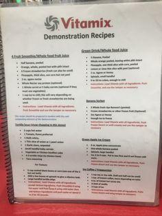 Vitamix Recipes from Costco