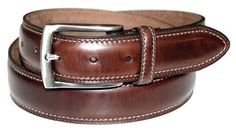 Dockers Men's 35mm Feather Edge Stretch Belt,Brown,50 Dockers. $22.50. 100% Leather. 0. 35mm feather edge belt with double row stitch and stretch feature with brushed nickel finished. Imported. leather