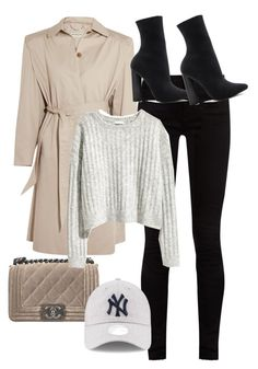 """Untitled #10614"" by katgorostiza ❤ liked on Polyvore featuring Balenciaga, Gucci, Steve Madden and Chanel"
