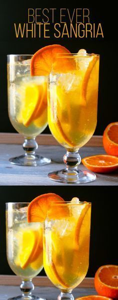 Best White Sangria Recipe Ever - Layers of Happiness - -You can find Sangria and more on our website.Best White Sangria Recipe Ever - Layers of Happiness - - Sangria Drink, White Wine Sangria, Cocktail Drinks, Cocktail Recipes, Sangria Pitcher, Sangria With Champagne, Sangria Recipes With Rum, Best Wine For Sangria, Cocktail