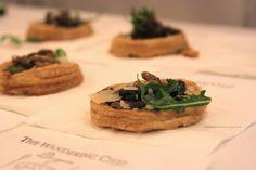 Mushroom and parmesan truffle tarte