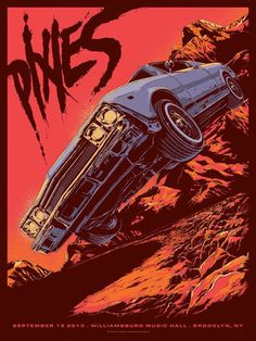 The Pixies - gig poster - Ken Taylor