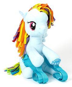 My Little Pony Rainbow Dash Plush Backpack  $12.99  http://rstyle.me/n/dz5gpnyg6