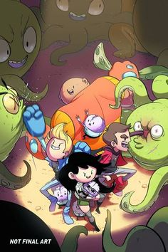 """Comic - Bravest Warriors (Tyson Hesse Cover) From Adventure Time Creator Pendleton Ward Comes The New Series """"Bravest Warriors"""" Soon To Be A Comic From BOOM! Pendleton Ward, Warrior 2, Bravest Warriors, Watch Cartoons, Adventure Time Anime, Comic Book Covers, Geek Stuff, Fun Stuff, Random Stuff"""