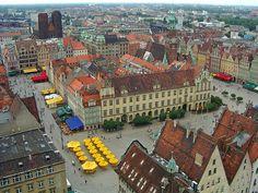 Market Square, Wroclaw , Poland : http://www.carrentalwroclawairport.com