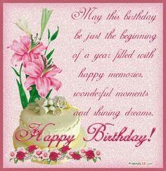 happy birthday wishes - Google zoeken
