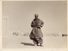 WWII - Morroccan Trooper, French Foreign Legion, Sahara, North Africa, Fort LeClerc, pin by Paolo Marzioli