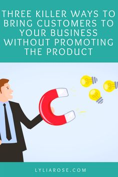 Three Killer Ways To Bring Customers To Your Business Without Promoting The Product #smallbusiness #business #businesstips #ecommerce #sellingonline #makemoneyonline #businessblog