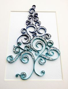 Your place to buy and sell all things handmade Paper Quilling Flowers, Paper Quilling Cards, Paper Quilling Patterns, Quilled Paper Art, Origami Paper Art, Quilling Paper Craft, Paper Crafts, Quilling Ideas, Quilling Letters