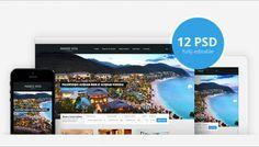 14 свежих и бесплатных PSD шаблонов веб-сайтов - http://w3talks.org/inspiration/resources/3699
