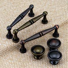 Antique Drawer Knobs Pulls Dresser Pulls Handles Knobs Vintage Shabby Chic Cabinet Handle Pull Knob Kitchen Furniture Hardware Door Handles by MINIHAPPYLV on Etsy