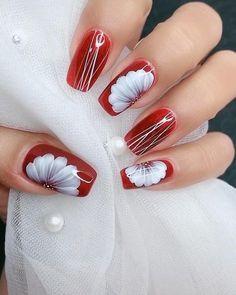 Nail Art Designs Videos, Nail Art Videos, Nail Designs, Nail Art Hacks, Nail Art Diy, Chic Nail Art, Christmas Nail Art Designs, Christmas Nails, Cute Nails