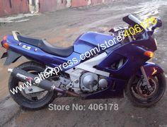Hot Sales,For Kawasaki ZZR400 1993-2003 ZZR 400 93-97 ZZR-400 93-03 ZZR 400 All Blue Fairings Moto Body Kit (Injection molding) #Affiliate