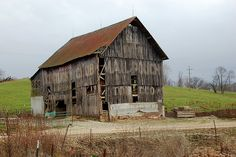 a very old Indiana barn
