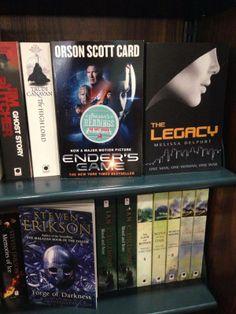 Exclusive Books shelf - P.E!