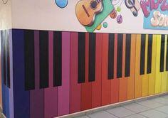 Piano, Kids Rugs, Rainbow, Wall, Mood, Inspiration, Education, Home Decor, Rain Bow