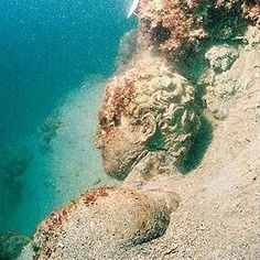 Underwater archeology, Bodrum, Turkey