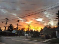 Sunset New Jersey - photographer Germán Rodríguez Laverde
