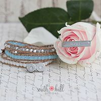 I can't say 'I do' without you! Dazzle your bridesmaids with this month's Two-Day Temptation featuring a gorgeous Pool Blue Crystal Beaded Wrap, a timeless Silver 'Love' Bar Necklace and a pair of Silver Tone South Hill Flower Stud Earrings. Get all these fabulous finds for 30% off! http://SouthHillDesigns.com/TammyTamayo jewelry > click on lockets > steals & deals!