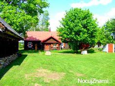 SUPER-dom na wyłączność-CISZA i SPOKÓJ - NocujZnami.pl  || Nocleg na wsi (Agroturystyka) || #agroturystyka #wieś #polska #poland || http://nocujznami.pl/noclegi/region/wies