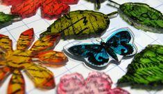 Annette's Creative Journey: Shrink Plastic Embellishments