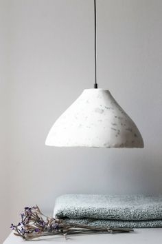 Ecologically sound and beautiful - the PAPA lamps are made of waste paper