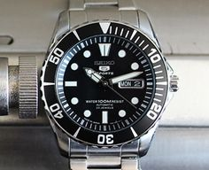 "Seiko SNZF17 ""Sea Urchin"" Automatic 