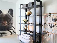 Max-Bone's Luxury Dog Accessories Land on La Cienega Dog Grooming Shop, Dog Grooming Salons, Pet Shop, Luxury Dog Kennels, Dog Kennel Designs, Dog Spa, Pet Hotel, Dog Salon, Pet Clinic