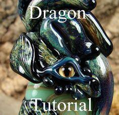 Dragon bead tutorial by Mary Lockwood.