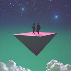 WETHEURBAN Tumblr | Pyramid | Upside Down Triangle | Sacred Geometry | Space Design | Cosmic Art | Stars