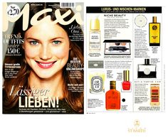 Ligne St Barth in the German Press: Maxi Magazine- featuring our famous Avocado Oil. www.LigneStBarth.com