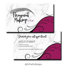Pre made modern gray and white marble microblading beauty salon cards premium quality printing services are available onthefly ontheflydesigns businesscards modern microblading eyebrows permanentmakeup reheart Choice Image