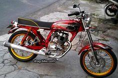 Drag Bike, Honda Cb, Classic Bikes, Motorcycle, Metals, Vehicles, Racing, Retro, Nice