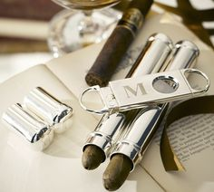 Is this not the perfect man gift? Loving this cigar flask and cutter from Pottery Barn. Fill this with 2 nice cigars and monogram it for that extra personal touch! Perfect for engagement parties, birthdays, groomsmen gifts or a stocking stuffer. I will be tucking this idea in my file for the holidays!