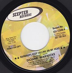 "45vinylrecord Raindrops Keep Falling On My Head/Is There Another Way To Love You (7"" DJ/45 rpm) SCEPTER http://www.amazon.com/dp/B00MPR70WW/ref=cm_sw_r_pi_dp_DlkEvb13B5MNB"