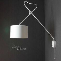 LED Deckenleuchte Nevis aus Metall in Silber #clicklichtde