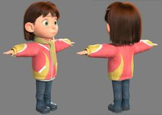 Character Shading and Texturing for Grace and Bunny: Disney Talent Program, Yibing Jiang on ArtStation at http://www.artstation.com/artwork/character-shading-and-texturing-for-grace-and-bunny-disney-talent-program