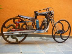 Bicycle made from an old vintage sewing machine; recycled art bike; found objects, assemblage; upcycle, recycle, salvage, diy, repurpose!  For ideas and goods shop at Estate ReSale & ReDesign, Bonita Springs, FL