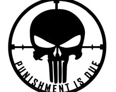 Punisher Flag Die Cut Vinyl Decal for Windows, Vehicle Windows, Vehicle Body Surfaces or just about any surface that is smooth and clean Punisher Logo, Punisher Marvel, Punisher Skull, Punisher Tattoo, Punisher Netflix, Ms Marvel, Captain Marvel, Marvel Comics, Window Decals