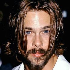Fight Club Brad Pitt, Seven Years In Tibet, Attractive People, American Actors, Gorgeous Men, Style Guides, Hairstyle, Celebs, Instagram