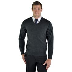 Andrew Jersey BRAND: VANGARD Has ribbed hem, neckline and sleeves and v-neck design Suits You, Men's Knitwear, Men Sweater, V Neck, Neck Design, Long Sleeve, Sleeves, Sweaters, Mens Tops