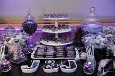 Candy Bar, Purple, Wedding, Tampa, Orlando, Clearwater. Best Photographer Ever!  Rhodes Studios: http://www.rhodesstudios.com, Hyatt Regency Clearwater Beach Resort and Spa: http://www.clearwaterbeach.hyatt.com, Flowers: http://beautifultampaweddings.com, Frequency Band:  http://www.frequencybandorlando.com, Cake: http://www.cakesbynomeda.com, MMD Events: http://www.mmdevents.com, Lighting: http://www.baystagelighting.com/ Comment if you have any questions about where I got things!