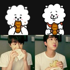 Jin and Rj is the cutest