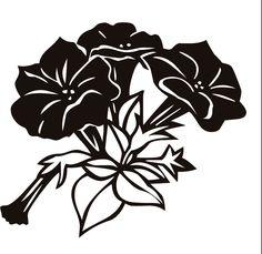 画像サンプル-白黒・切り絵風