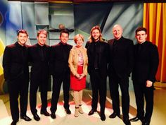 Celtic Thunder lads on The New Day Seattle!!! ;-)