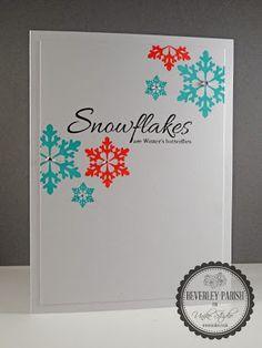 Uniko Studio: Introducing... Designer Dies Snowflakes & Stunning Snowflakes