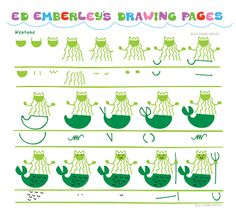 Ed Emberley's Drawing Pages