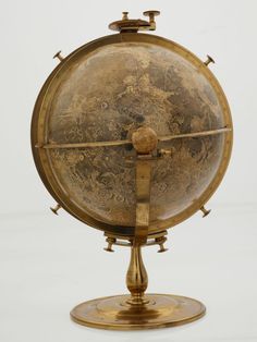 400 Years of Beautiful, Historical, and Powerful Globes | John Russell's moon globe from another angle. | Credit: British Library | From Wired.com