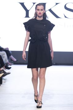2015 YKS FW VANCOUVER FASHION WEEK Vancouver, Black, Dresses, Fashion, Vestidos, Moda, Black People, Fasion, Dress