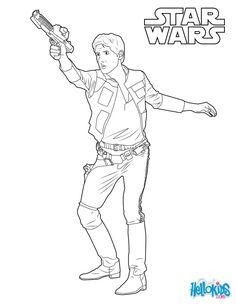 Luke Skywalker coloring sheet. More Star Wars coloring